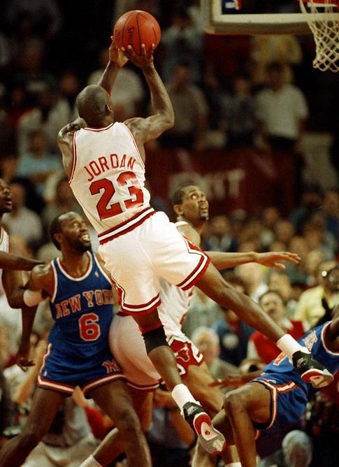 MJ magic moment